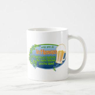 Puede usted estar en cielo tazas de café