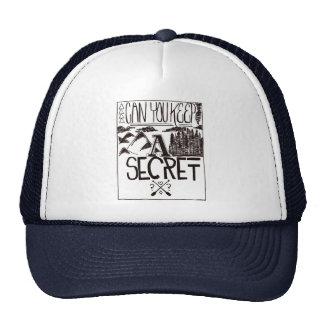 Puede usted guardar un secreto gorros