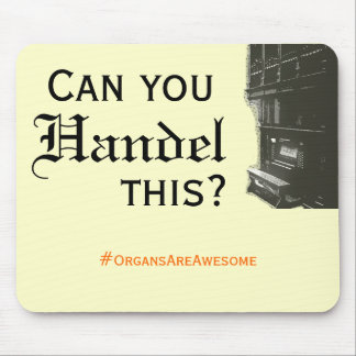 Puede usted Handel este Mousepad