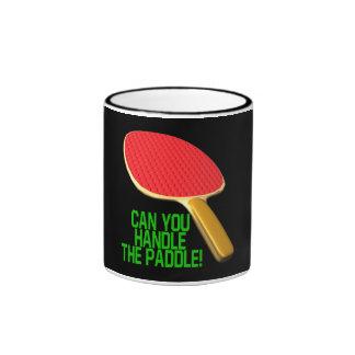 Puede usted manejar la paleta taza a dos colores