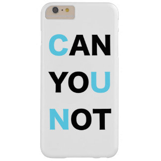 PUEDE USTED NO FUNDA DE iPhone 6 PLUS BARELY THERE