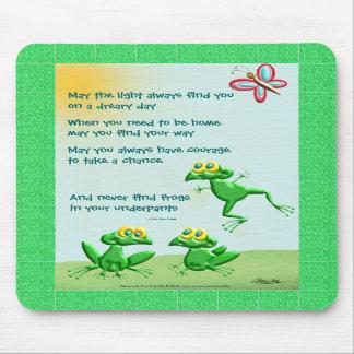 Puede usted nunca encontrar ranas en sus calzoncil tapete de ratones