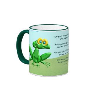 Puede usted nunca encontrar ranas en sus taza a dos colores