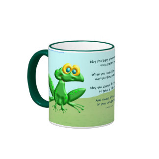 Puede usted nunca encontrar ranas en sus taza de dos colores