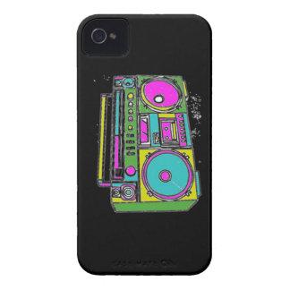 ¿Puede usted oír mi equipo estéreo portátil? iPhone 4 Cárcasa