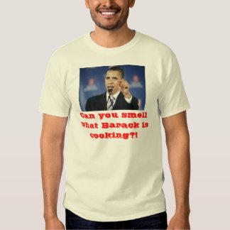 ¡Puede usted oler qué Barack está cocinando?! Playeras