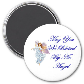 Puede usted ser bendecido por un ángel iman de nevera