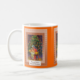 Puede usted tener navidad bendecido taza de café