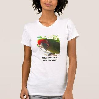 Puede usted volar la camiseta de las mujeres playera