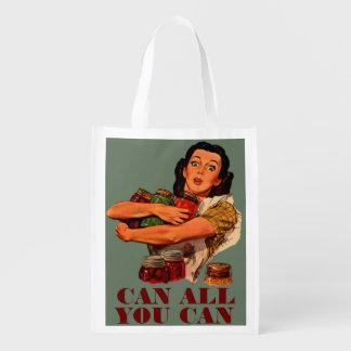 Pueden todos lo que usted puede bolsas de la compra