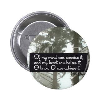 Puedo alcanzar el botón de motivación pins