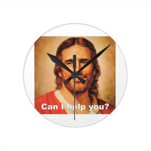 ¿Puedo ayudarle? Reloj Redondo Mediano