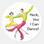 Puedo bailar sí etiqueta