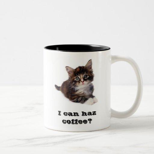 ¿Puedo café del haz? Taza