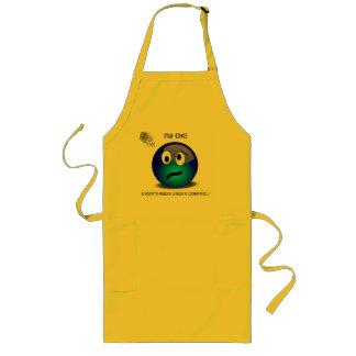 Puedo cocinar seguro delantal largo