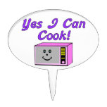 Puedo cocinar sí microonda palillos de tarta