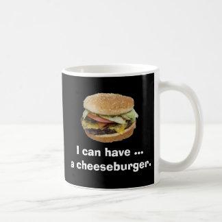 Puedo comer un cheeseburger taza clásica