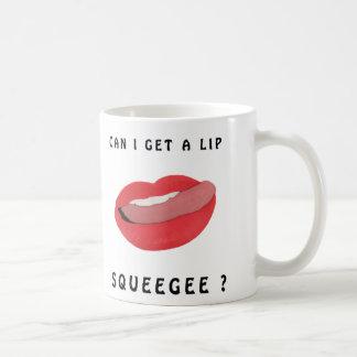 Puedo conseguir una taza del enjugador del labio