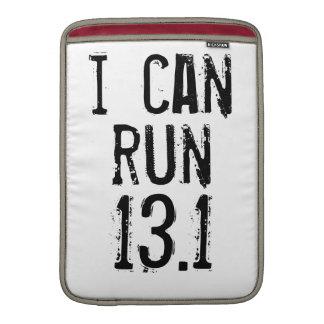 Puedo correr 13,1 -- ¿Puede usted? Fundas Macbook Air