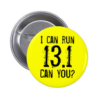 Puedo correr 13,1 -- ¿Puede usted? Pin