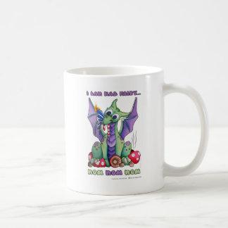 Puedo dragón lindo del bebé de la hada NOM NOM NOM Taza De Café