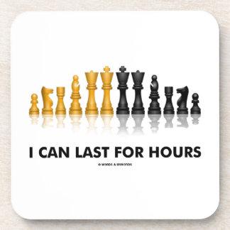 Puedo durar por las horas (el juego de ajedrez del posavasos de bebidas