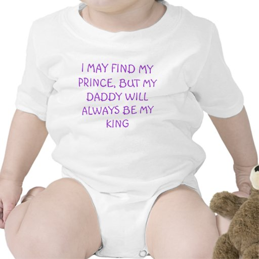 Puedo encontrar a mi príncipe… trajes de bebé