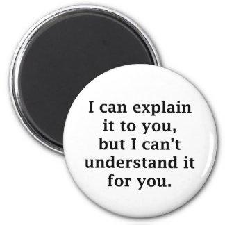 Puedo explicarlo a usted imán redondo 5 cm