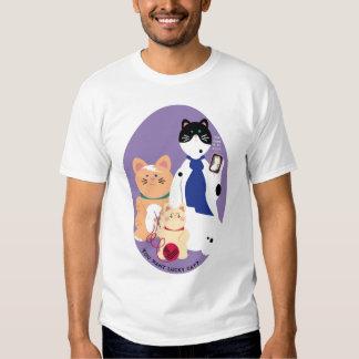 ¿Puedo gato afortunado del haz? Polera