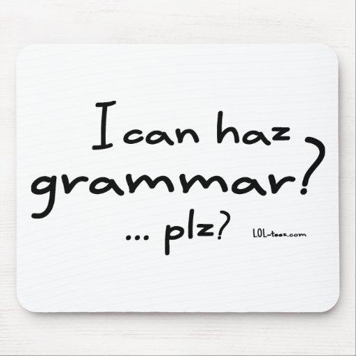 ¿Puedo gramática de Haz? Tapete De Ratones