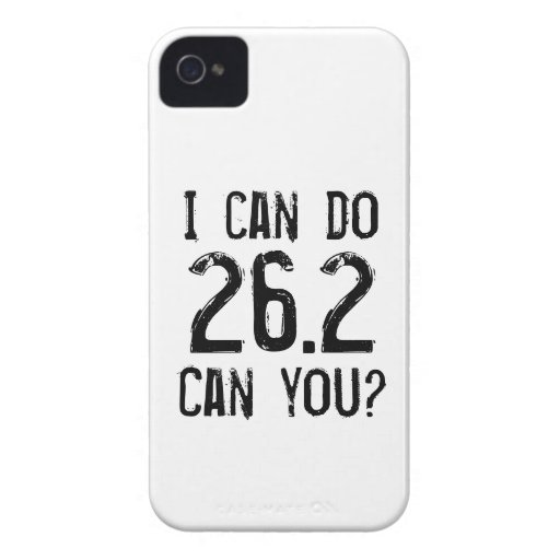 Puedo hacer 26,2 -- ¿Puede usted? Case-Mate iPhone 4 Cobertura