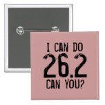 Puedo hacer 26,2 -- ¿Puede usted? Pins