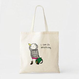 """""""Puedo hacer cualquier cosa"""" bolso Bolsa Tela Barata"""
