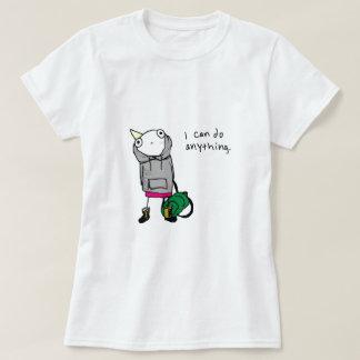 Puedo hacer cualquier cosa camisas