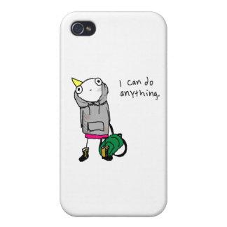Puedo hacer cualquier cosa iPhone 4 funda