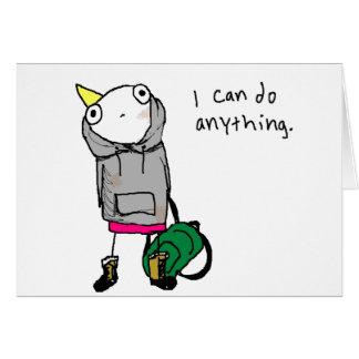 Puedo hacer cualquier cosa tarjetón