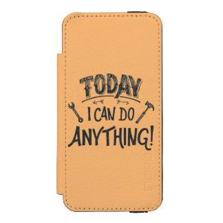 Puedo hacer hoy cualquier cosa funda billetera para iPhone 5 watson