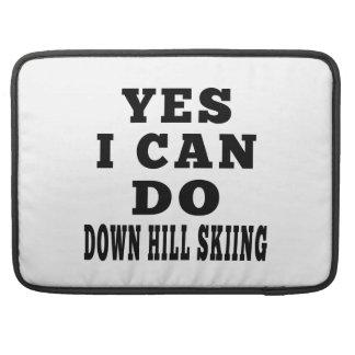 Puedo hacer sí abajo del esquí de la colina