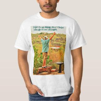 Puedo hacer toda la camiseta de Thro Cristo de las