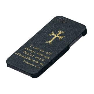 Puedo hacer todas las cosas a través de Cristo iPhone 5 Coberturas