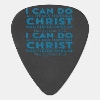 Puedo hacer todas las cosas a través de Cristo Plectro