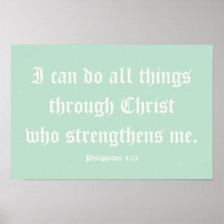 Puedo hacer todas las cosas a través de Cristo Po