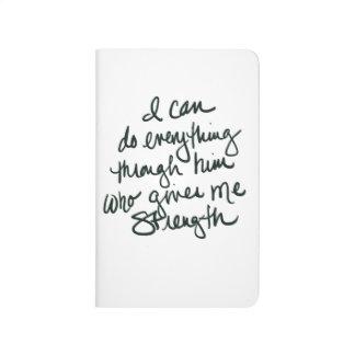 Puedo hacer todo - cuaderno inspirado