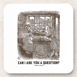¿Puedo hacerle una pregunta? (Ovejas de Alicia) Posavasos De Bebidas