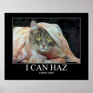 ¿Puedo Haz? Lolcat Posters
