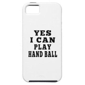 Puedo jugar sí la bola de mano iPhone 5 carcasas