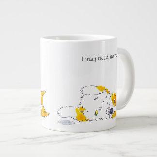 Puedo necesitar más taza del Corgi del café Taza Jumbo