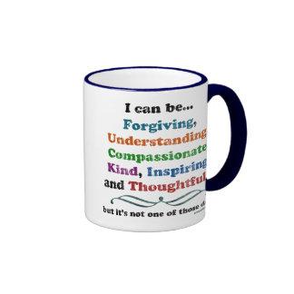 Puedo perdonar taza de café