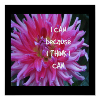 Puedo porque pienso que puedo impresiones