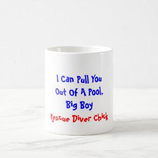 Puedo sacar de usted una piscina, muchacho grande, tazas de café
